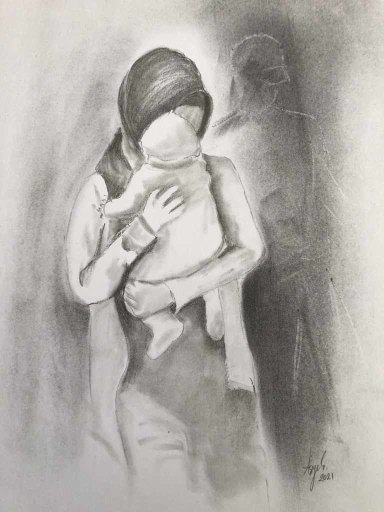 Frauen, die mit ihren Babys für Verbrechen inhaftiert wurden, die sie nicht begangen haben. By Asiye Çoktaşar